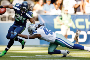 SPORTS: MARSHAWN LYNCH