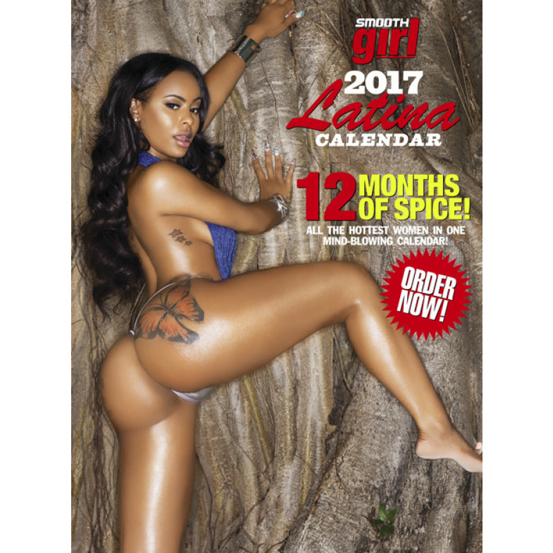 SMOOTH 2017 Latina Calendar