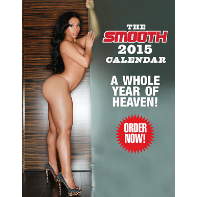 SMOOTH 2015 Large Calendar