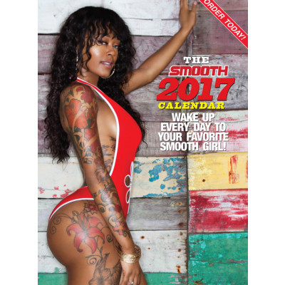 SMOOTH 2017 Large 12x12 Calendar